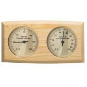 Termo-Higrometr do sauny, sosna, 225x125 mm, Sentiotec